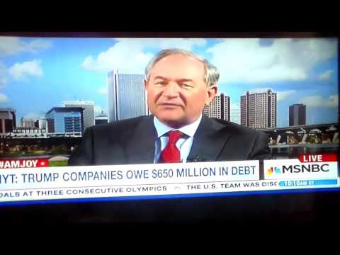 Jim Gilmore Loses His Cool Defending Donald Trump
