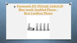 Best Cordless Phones Review In 2018 – A Step By Step Guide