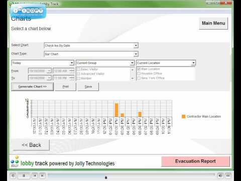 Visitor Log Software - Lobby Track 6 - Log and Report Visitors