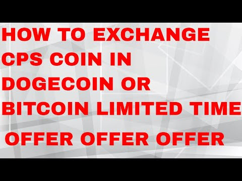 (NOT PAYING )NEW INVESTMENT SITE LIVE DEPOSIT AND WITHDRAWAL & CPS COIN EXCHANGE IN DOGECOIN LIMITED