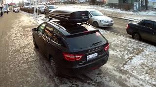 видео Багажник универсала Лада Веста СВ Кросс (фото)