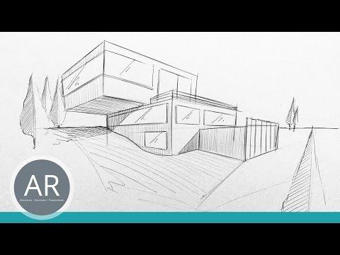 Architekturskizzen Einfach Und Uberall Mit Dem Kulli Anfertigen Mappenvorbereitungskurs Architektur