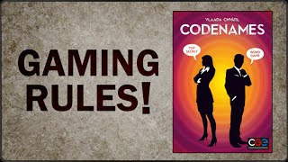 Codenames - Official Rules Video