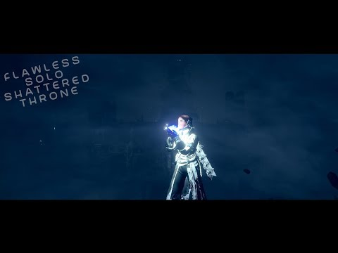 Destiny 2: Shattered Throne Solo Flawless on a Warlock