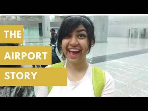 The Airport story to kolkata [Vlog #12]