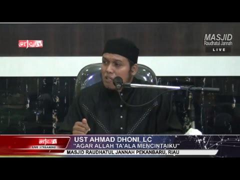 """Agar Allah Ta'ala mencintaiku"" - Ustadz Ahmad Doni, Lc ""30 December 2017"""