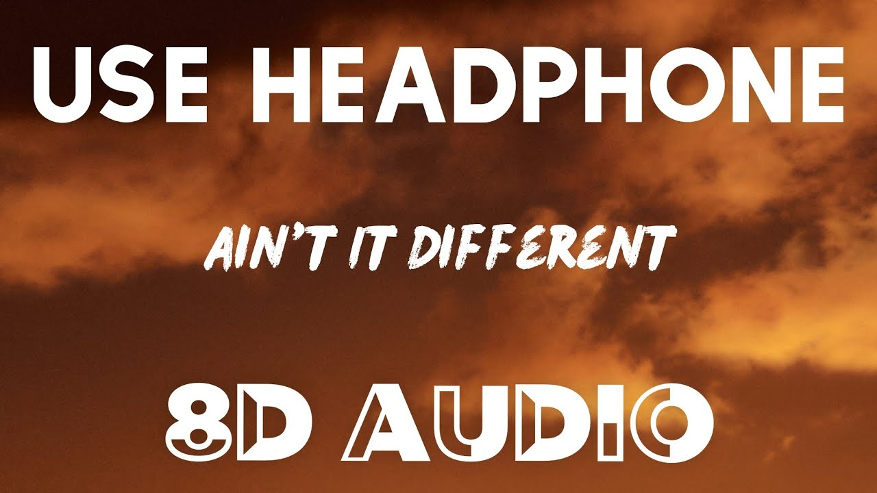 Download Headie One ft. AJ Tracey & Stormzy - Ain't It Different (8D AUDIO)