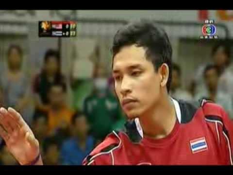 เซปักตะกร้อ รอบชิงชนะเลิศ ระหว่างไทยกับมาเลย์เซีย เซตที่ 1 (29 ก.ย. 2556)