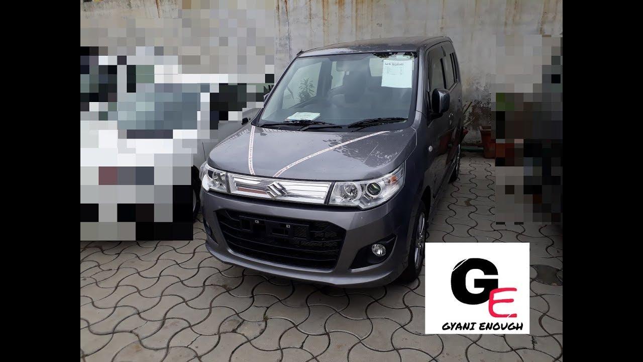 maruti suzuki wagon r vxi with auto gear shift actual look with interiors exteriors  [ 1280 x 720 Pixel ]