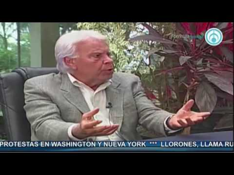 Felipe González Márquez, en entrevista con José Cárdenas 1ª parte