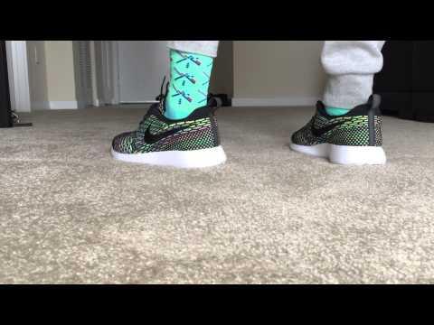 Nike Roshe Run Flyknit Multicolor