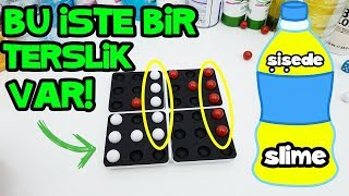 Şişede Slime Challenge - Make the slime in the bottle - Vak Vak TV