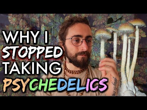 Why I Stopped Taking Psychedelics... (& How They Changed Me)