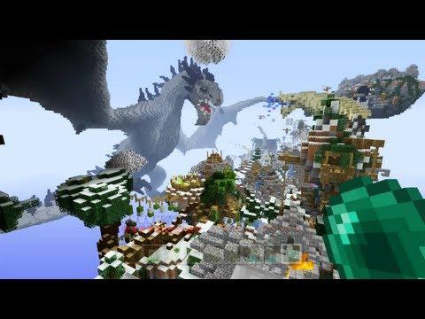 Minecraft Xbox - Dragons Realm - Michael Myres Map