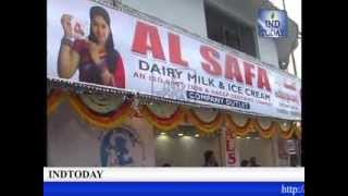 Mayor Majid Hussain and TRS MLC Mahmood Ali inaugurates 12th Store of Al Safa Dairy Products