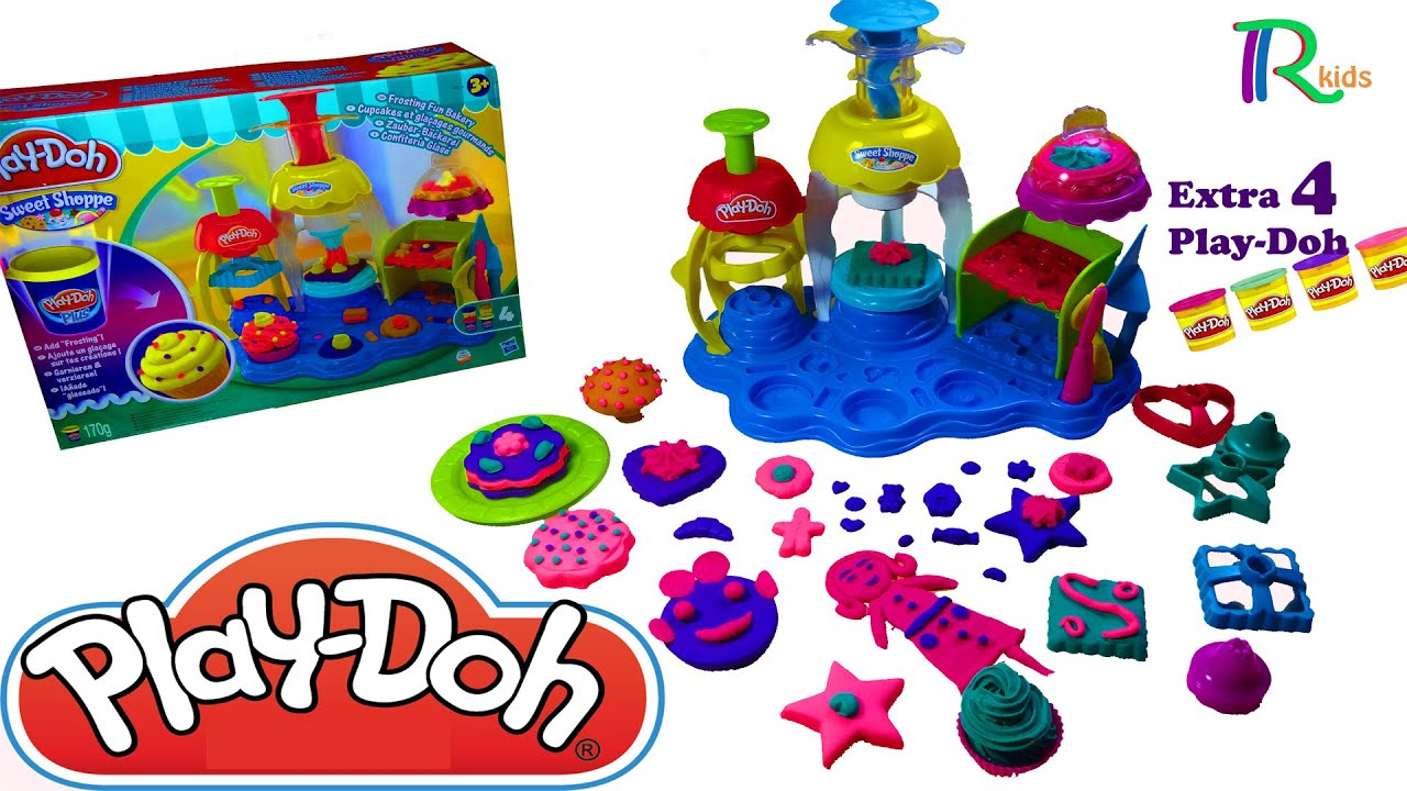 Play Doh Küche Youtube New Hd Play Doh Sweet Shoppe Frosting Fun Bakery Playset Extra 4 Play Doh 2015