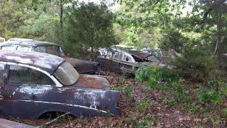 Abandoned Classic Cars