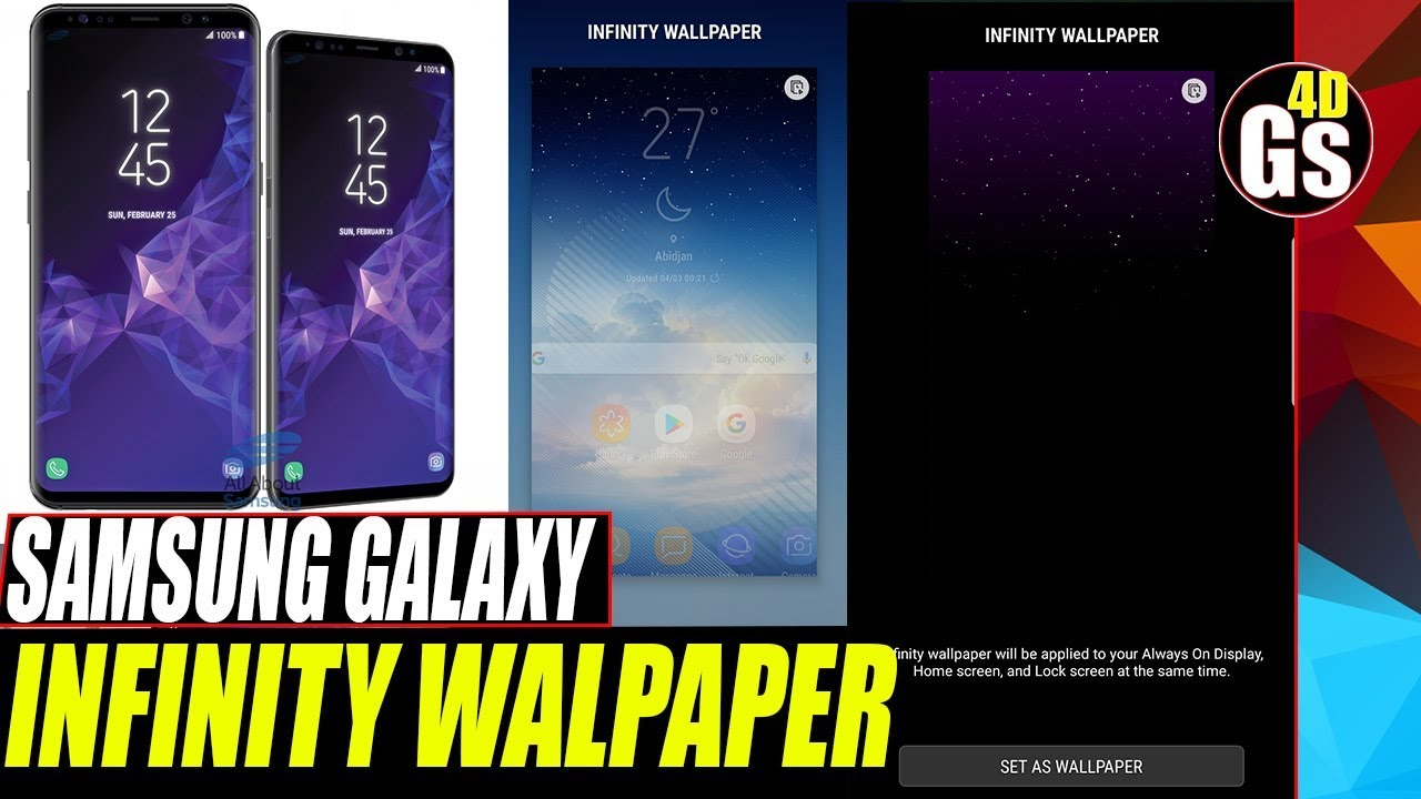 Infinity Wallpaper On Galaxy J7 Prime Test Review Youtube