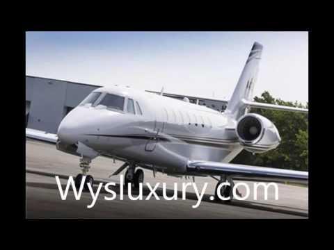 WysLuxury Private Jet Cessna Citation Sovereign plus Interior Aircraft Charter Flight Service