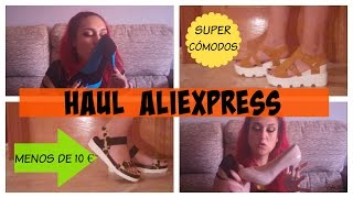 Haul zapatos aliexpress
