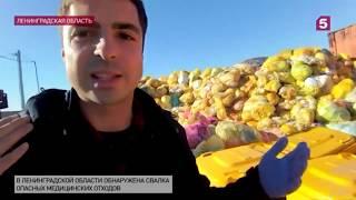Чрезвычайно опасные отходы свозят наполигон под Петербургом