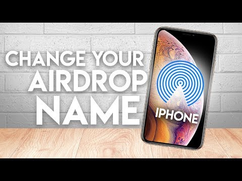How to Change iPhone Airdrop Name