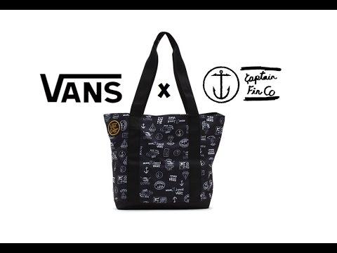 b3a4e651d42 Product Review  Vans x Captain Fin    Carmel Cooler Tote Bag - YouTube