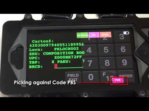 Smart Gladiator - Realtime Feedback to Operators - Picks Per Hour or Units per Hour