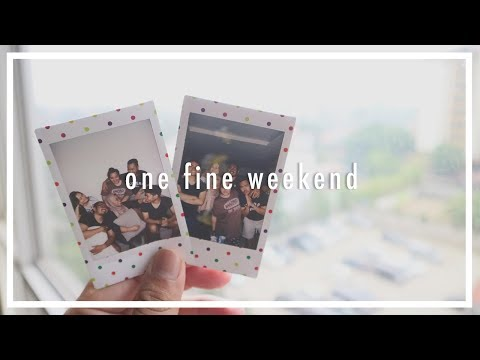 One Fine Weekend - #VLOG || Somerset Berlian Apartment