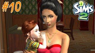 ДЕНЬ РОЖДЕНИЯ ДВОЙНЯШЕК - The Sims 2 Семья Гот и другие #10.