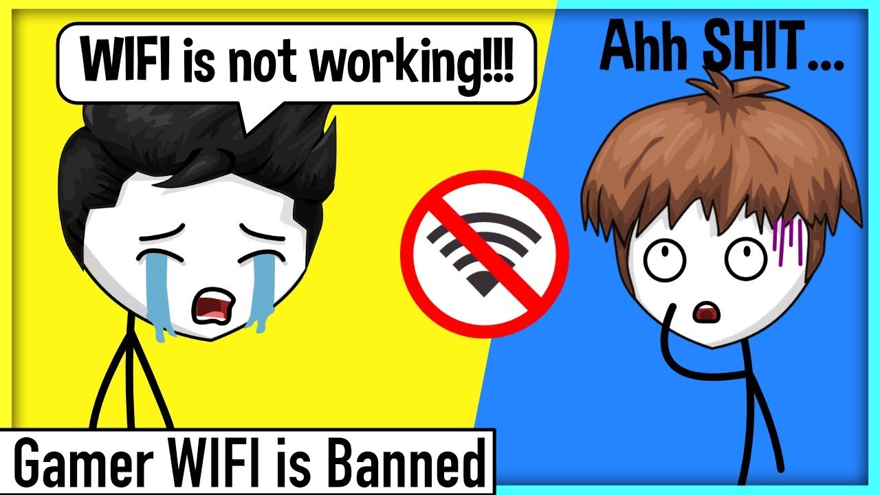 When a Gamer is Banned from using Internet