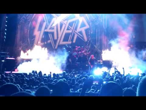 Slayer 2017 Xpress Live Columbus Reign in Blood!