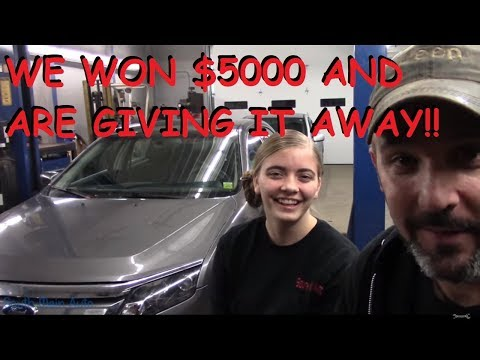 We Won $5000 And Now We're Gonna Give It Away!!