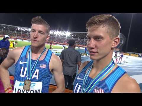 IAAF/BTC World Relays Bahamas 2017 - 4X800m Men Team USA Gold