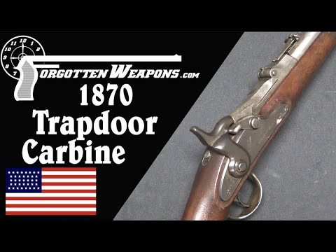 The First Trapdoor Springfield Carbine, Model 1870