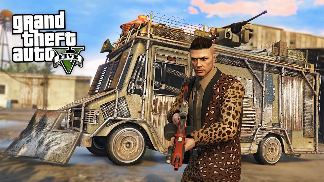 $3,000,000 ARMORED BOXVILLE: SPECIAL VEHICLE MISSIONS!! (GTA 5 Online)
