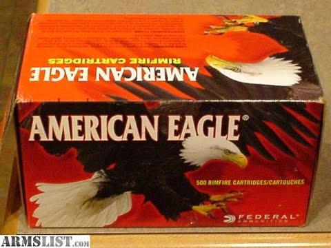 22 lr Ammo Test American Eagle