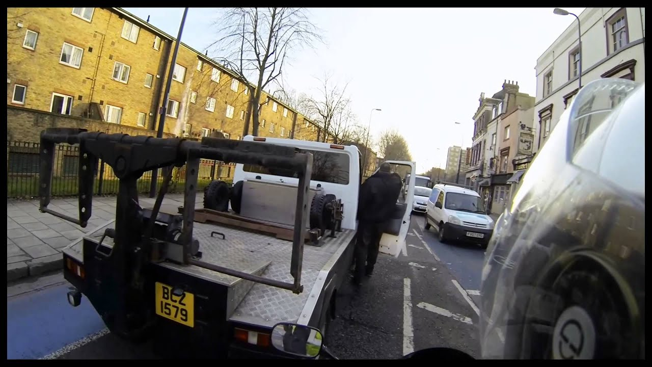 London Tow truck road rage