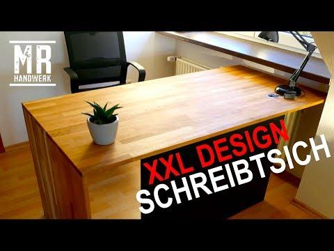 Berühmt Schreibtisch selber bauen / Arbeitsplatte DIY RC15