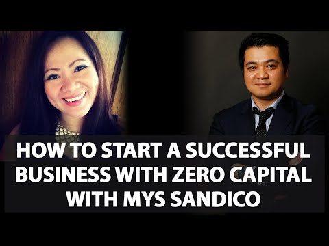 How Mys Sandico Started A Business With Zero Capital Interview
