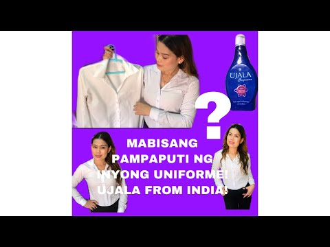 HOW TO WHITEN YOUR CLOTHES UNIFORMS INSTANTLY! LEGIT ETO VERY EFFECTIVE