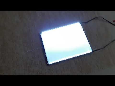 DIY Transform Old LCD TV/Monitor Into LED Lamp