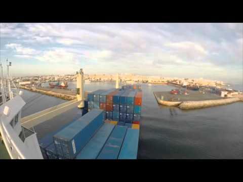 Sousse Tunis Ship berthing