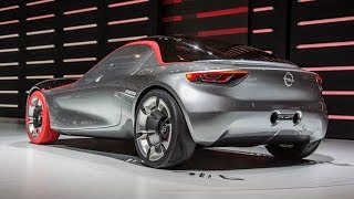 First Look & Review Opel GT Concept: The German Mini-Corvette Returns