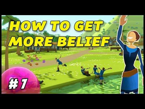 HOW TO GET MORE BELIEF - Godus - Episode 7