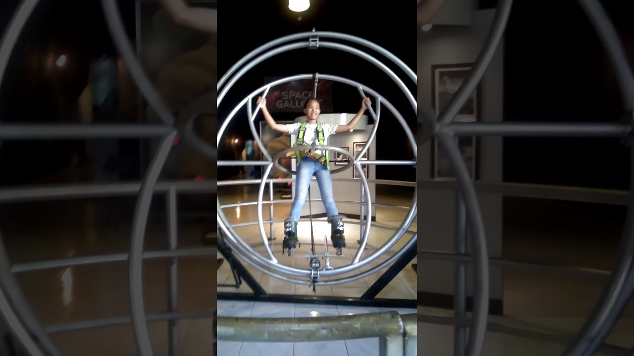 Mozzarella's turn at the Human Gyroscope at Philippine Science Centrum  (part 25)
