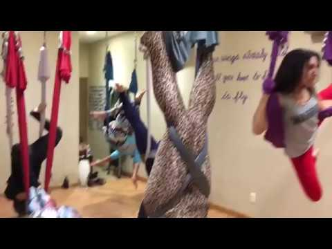 Mannequin Challenge in AntiGravity® Yoga Mode
