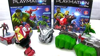 New Disney Playmation Toys - The Avengers - Iron Man, The Hulk