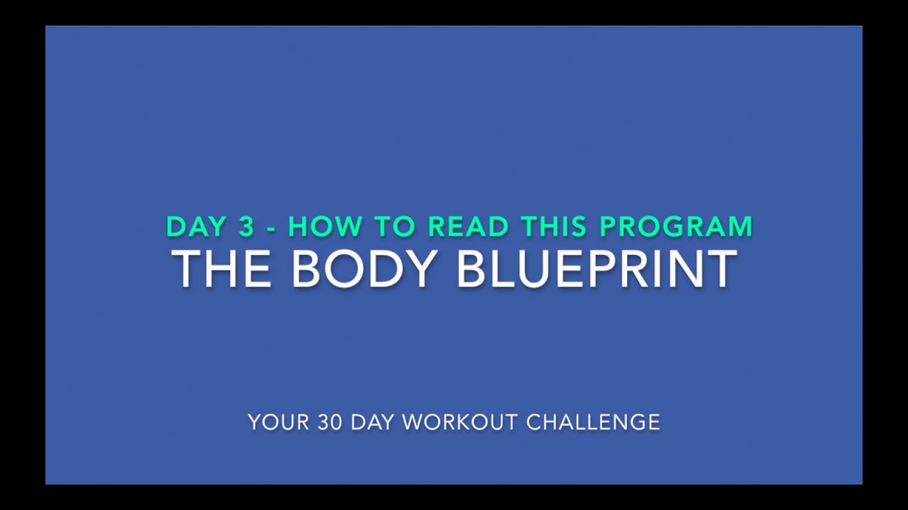 Blueprint workout day 3 eoua blog How do you read blueprints