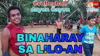 BINAHARAY SA LILOAN VOLLEYBALL DAYON DAYON